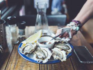 Cata de ostras en Wine not