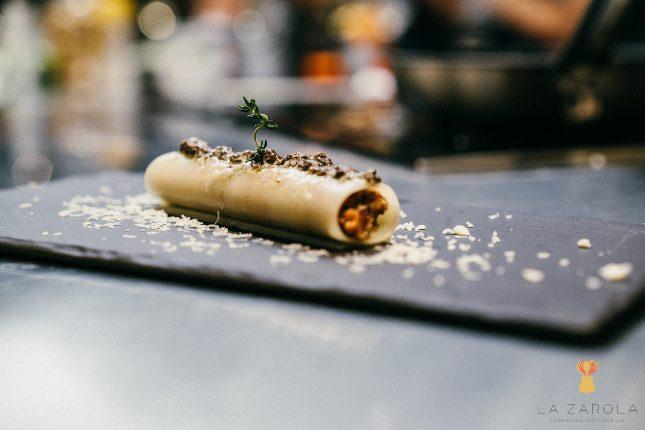 Cocina aragonesa de vanguardia La Zarola