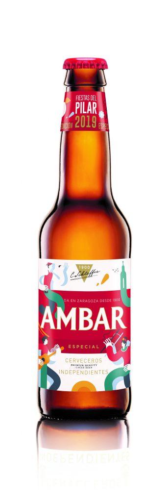 AMBAR Recreación botella Pilar 19