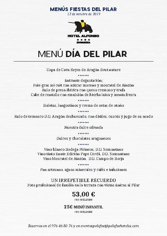 menus-diadelpilar2019 Alfonso