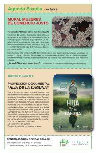Proyección documental La hija de la Laguna Suralia