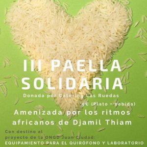 Paella solidaria San Juan de Dios