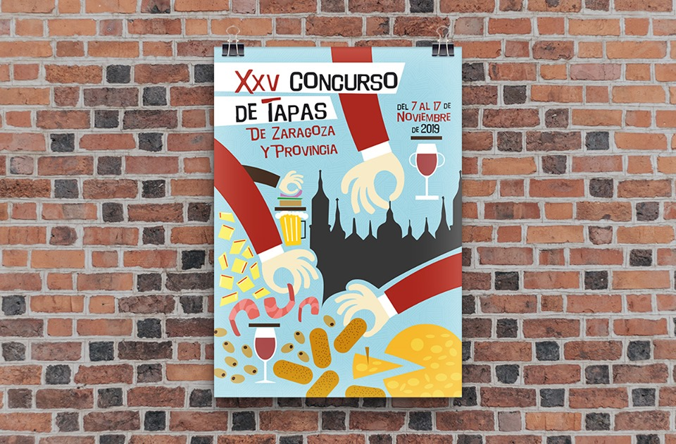 Concurso de tapas de Zaragoza y provincia 2019
