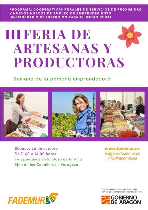 Feria de artesanas y productoras