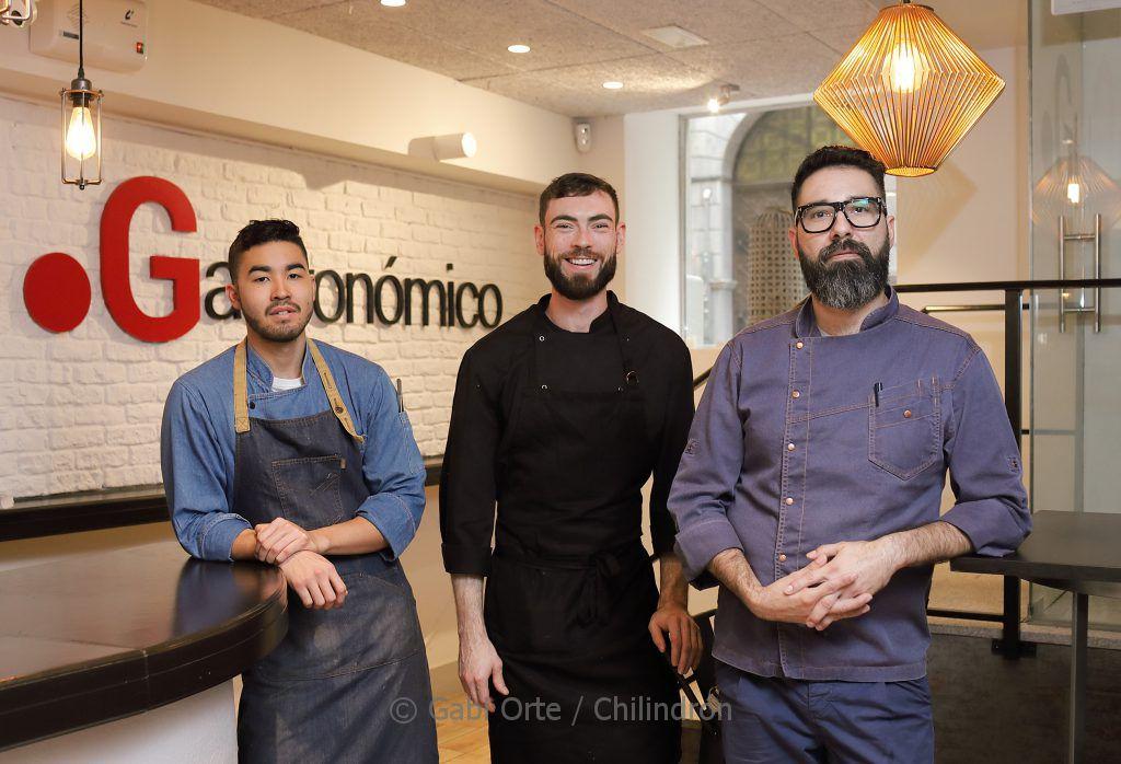 Sebastián Valderrama, Adam Val Y Alex Vargas, los cocineros del Punto Gastronómico