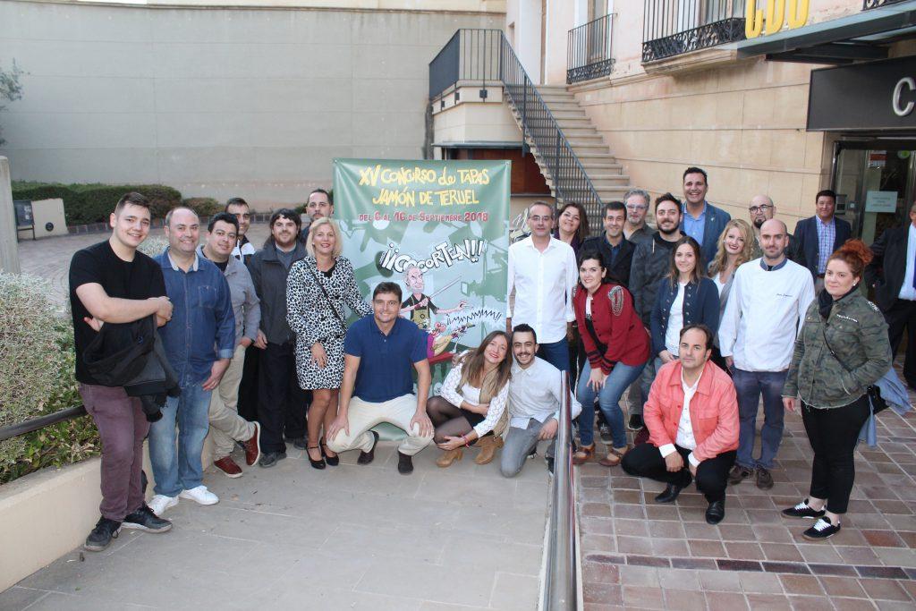 FOTO finalistas tapas Jamón Teruel 2019