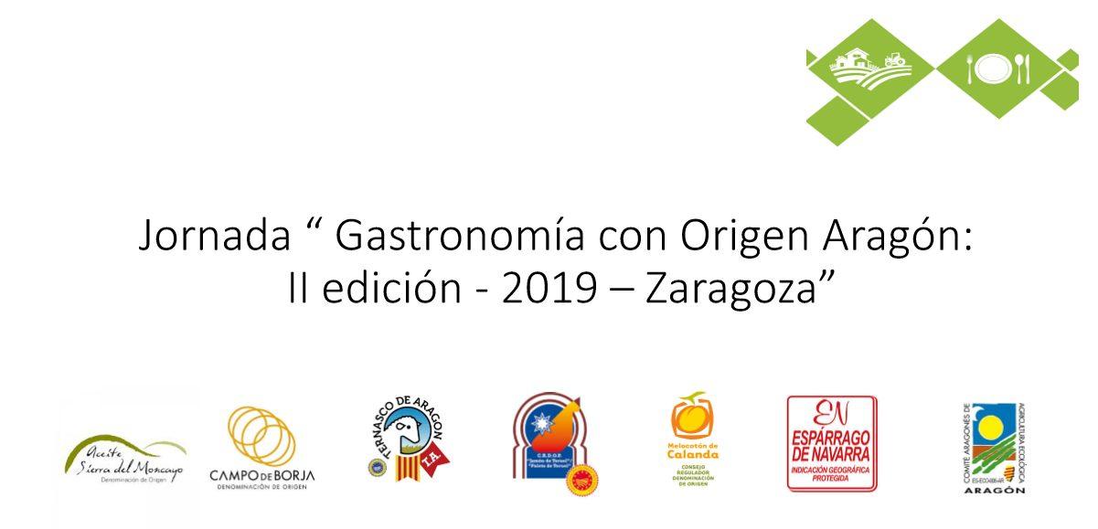 jornada Gastronomía con Origen Aragón