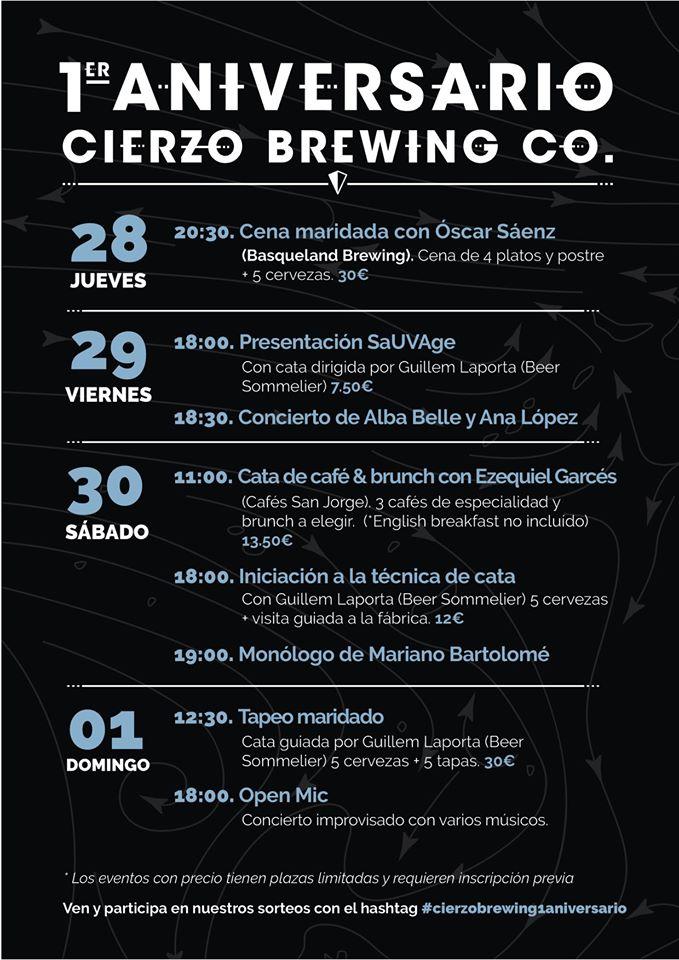 Actividades cerveceras