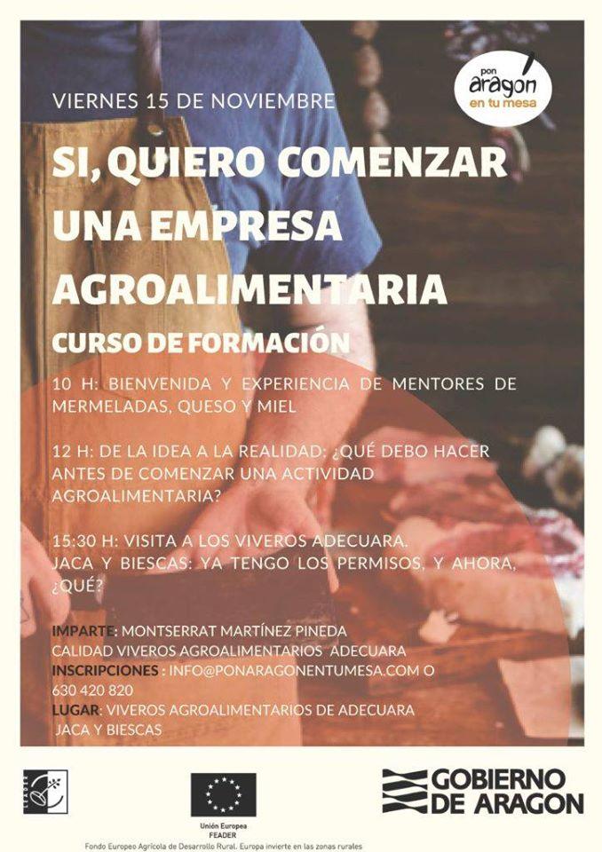 Conferencia sobre emprendimiento agroalimentario