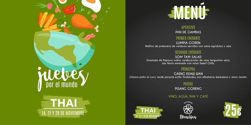 Cena Tailandesa