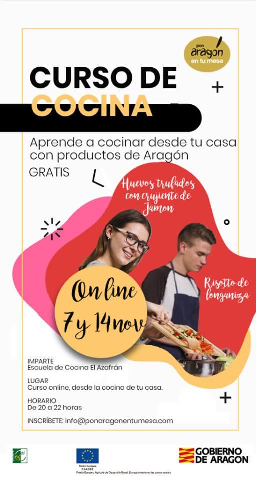 Curso online de cocina