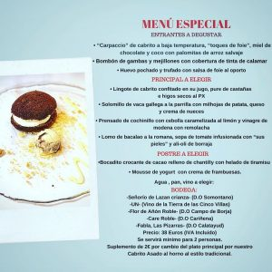 BODEGA CHEMA menu nov 19