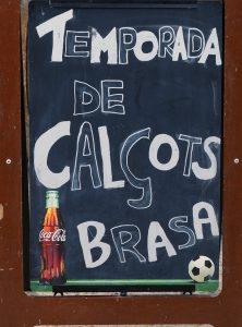 Cartel Calcots Buenavista