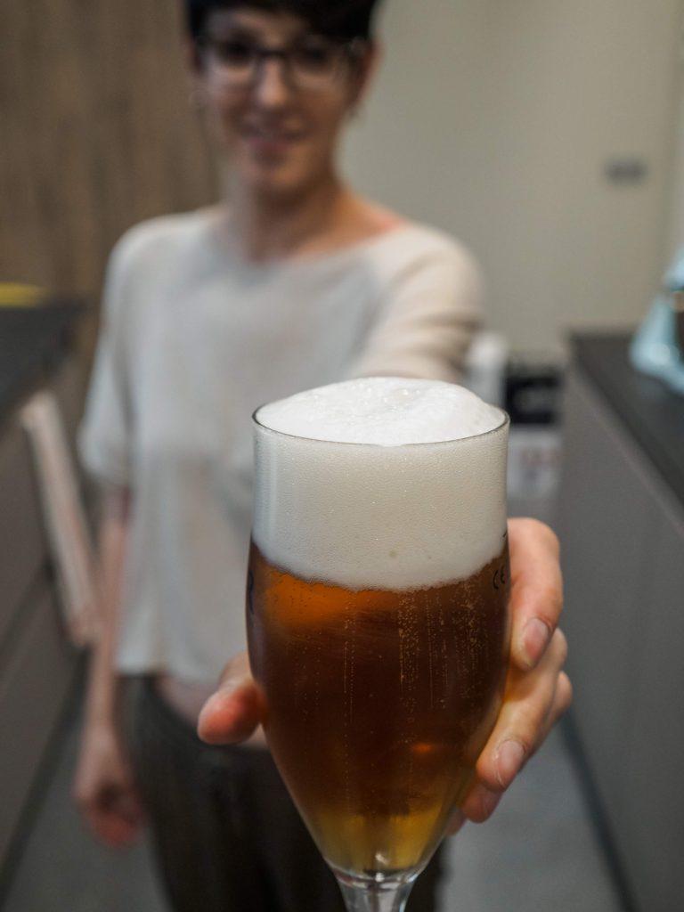 Curso de cocina con cerveza