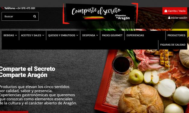 Tienda 'online' de productos de Aragón