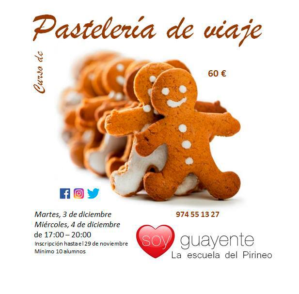 Curso de Pastelería de Viaje en Guayente