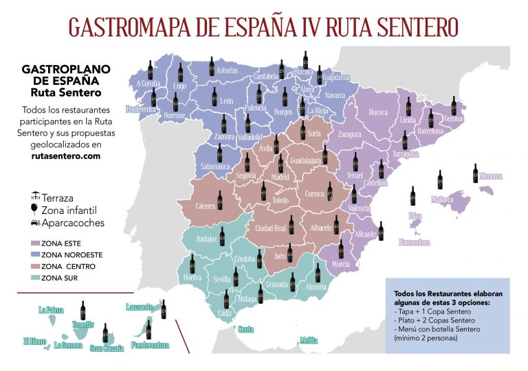 Mapa Sentero ruta rabo toro 19
