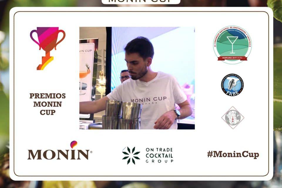 Miguel Martín Abad, mejor coctelero del V Concurso Monin Cup,