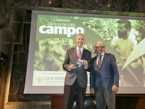 Francisco Marcén Premios Heraldo del Campo