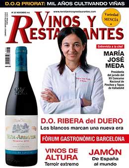 portada Vinos y Restaurante 207