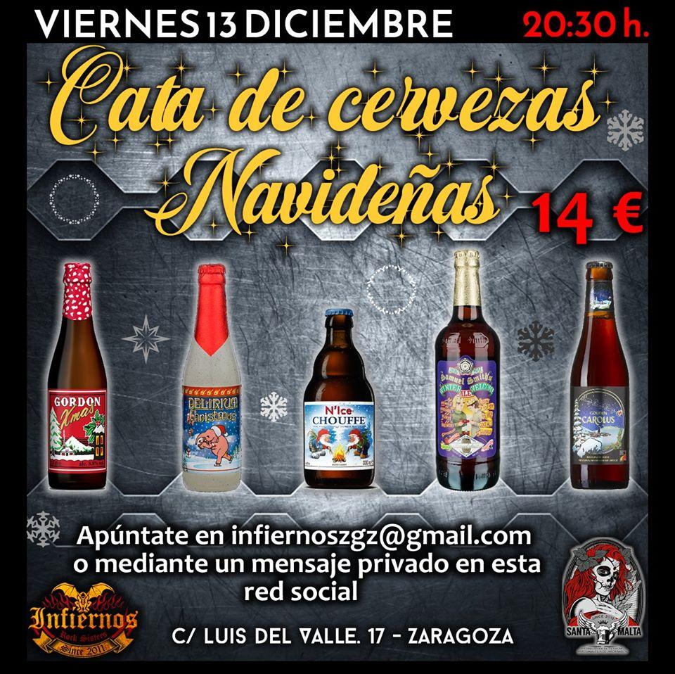 Cata de cervezas navideñas