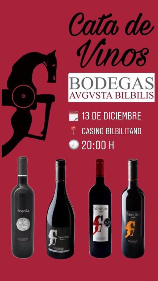 Cata de vinos Augusta Bílbilis