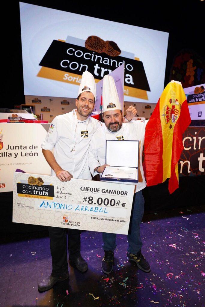 Concurso Cocinando con Trufa Arrabal
