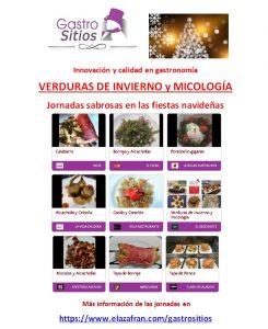 GASTRO SITIOS Verduras de invierno y micología