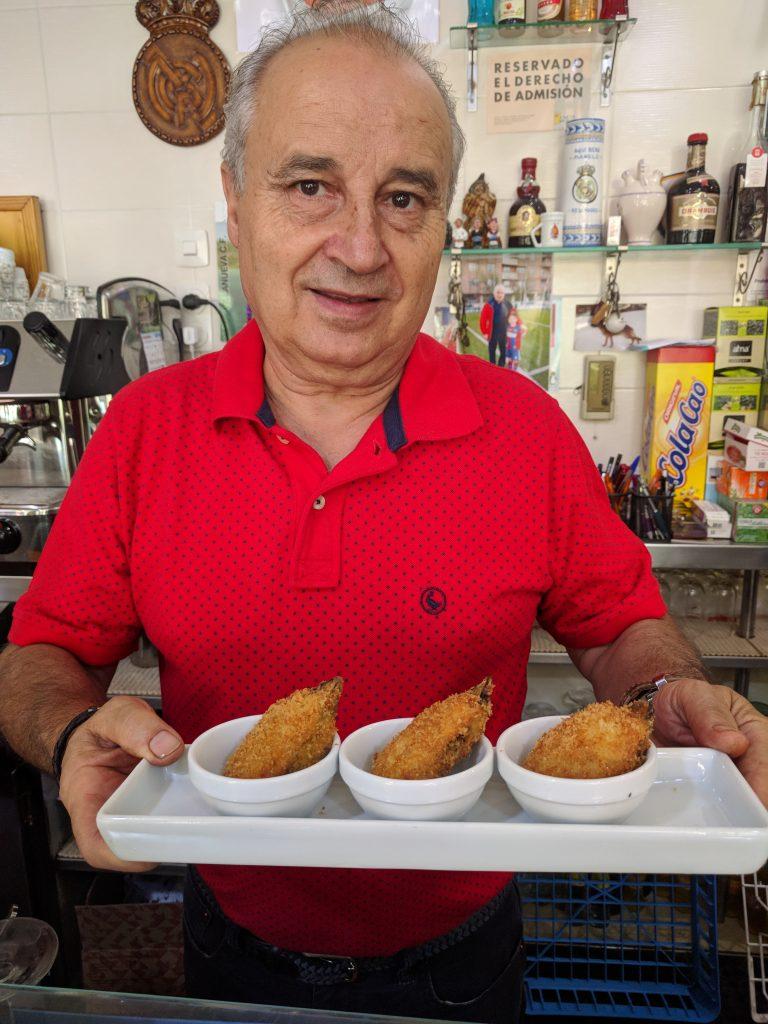 Manolo de Bar Alboran cariocas