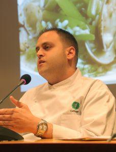 cocinero RAÚL PÉREZ