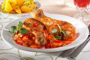 pollo al chilindron grancasa