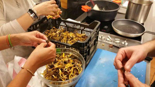 Curso de cocina de setas y trufa
