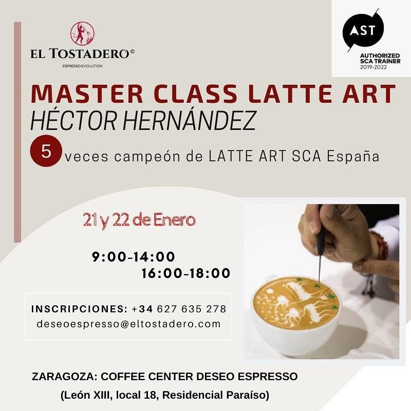 Master class de café