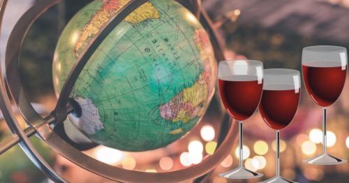 Cata de vinos internacionales