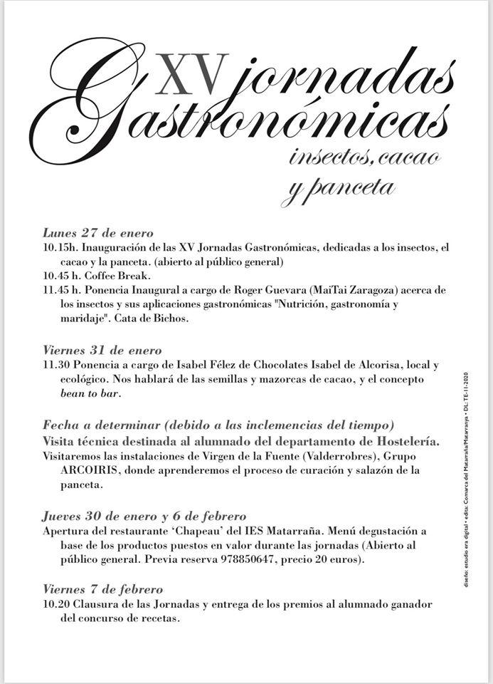 Jornadas Gastronómicas del Matarraña