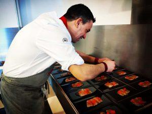 Alberto Ferruz cocinero