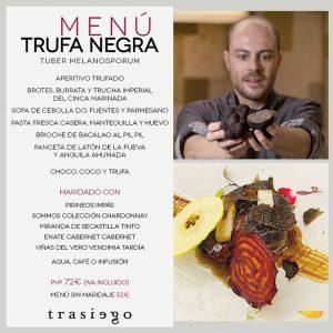 2020 Trasiego menu trufa