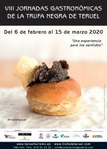 VIII JORNADAS GASTRONÓMICAS DE LA TRUFA NEGRA DE TERUEL 2020