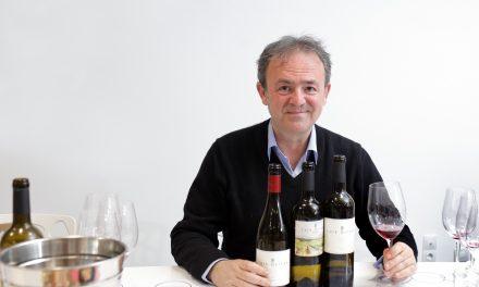 Luis Oliván presenta sus vinos