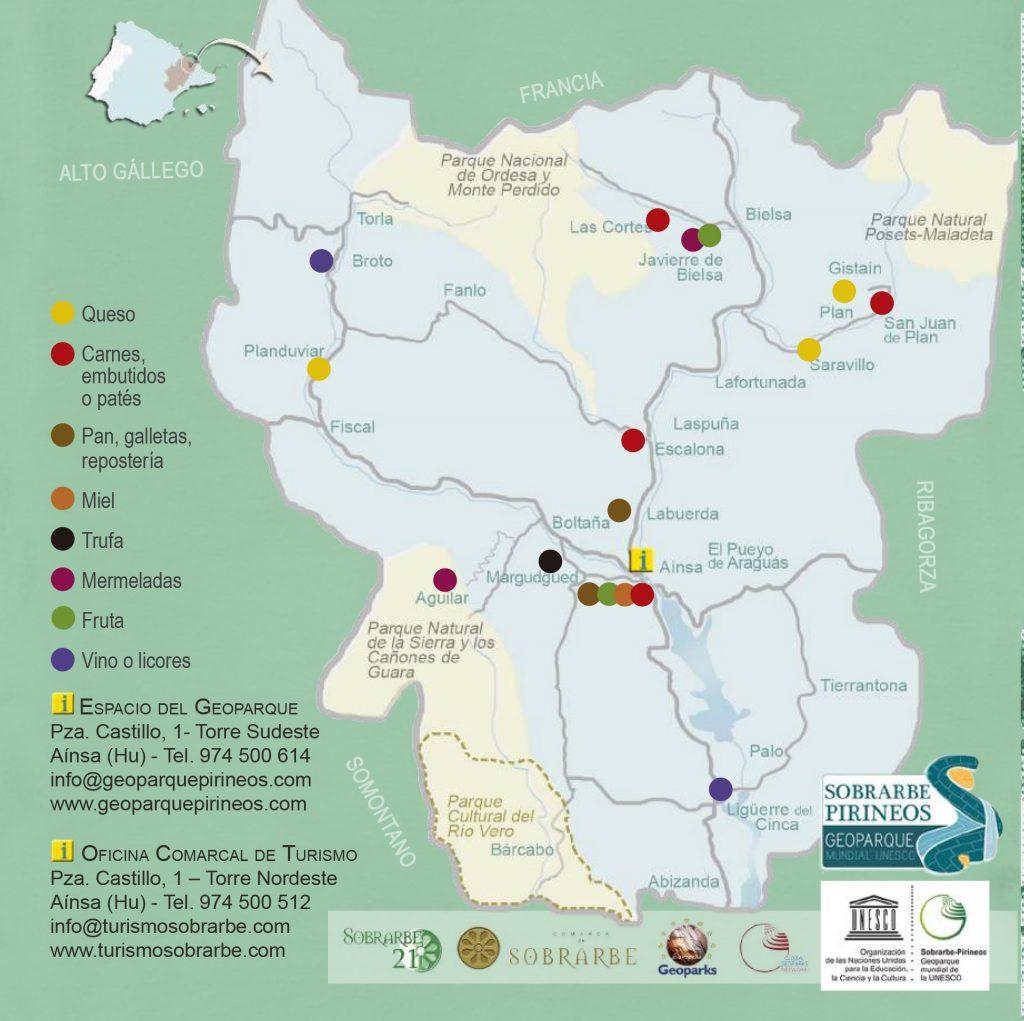 Mapa georparque