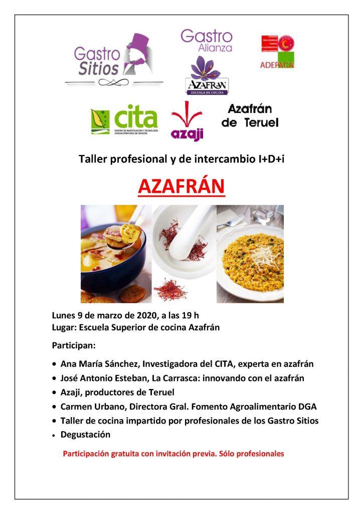 20-03 TALLER PROFESIONAL DE azafran