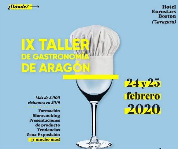 IX Taller de Gastronomía de Aragón