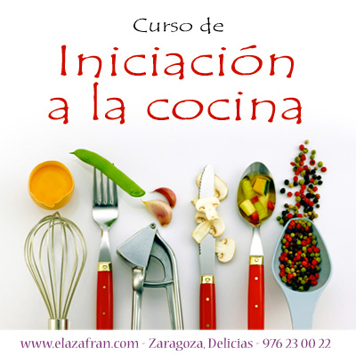 Curso de iniciación a la cocina - Escuela Azafrán