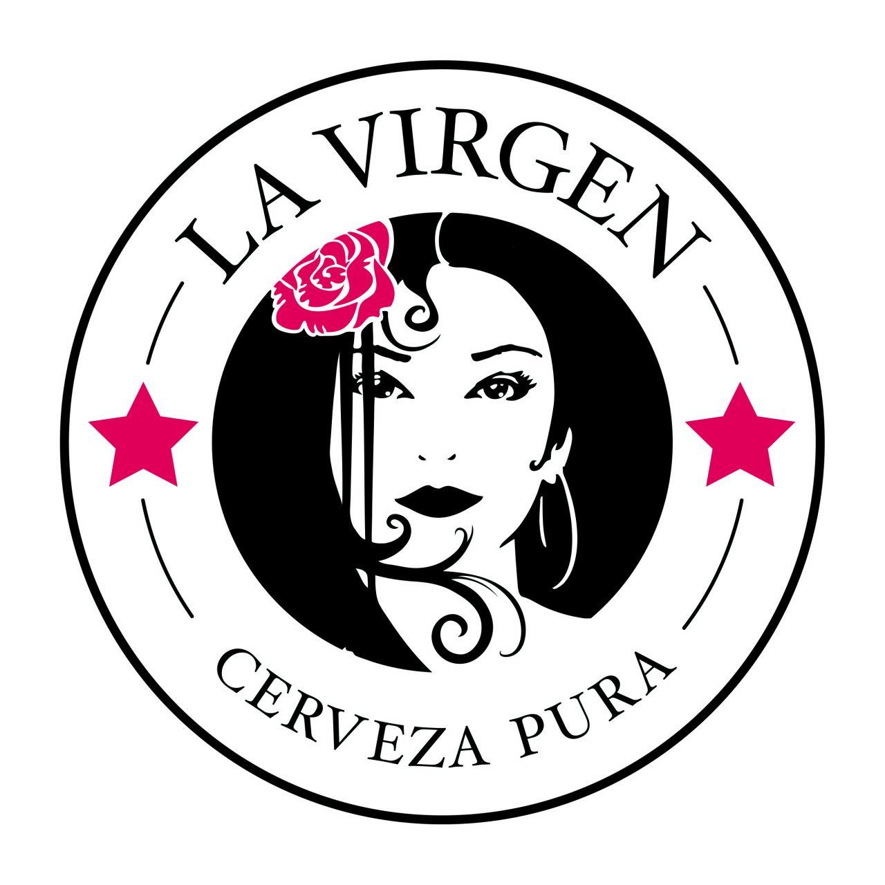 cervezas La Virgen logo