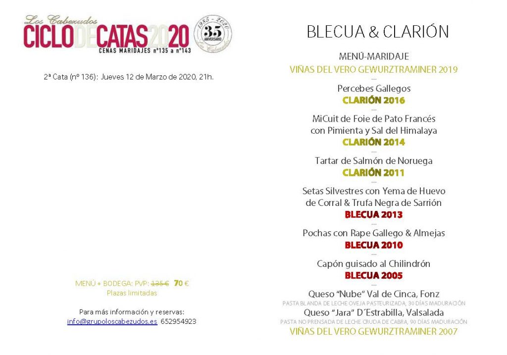 20-02 cabezudos BLECUA-CLARION menu