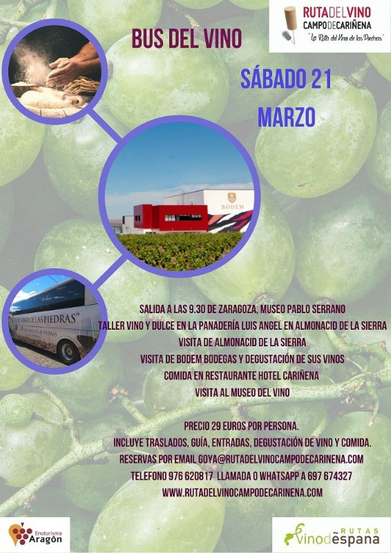 Ruta del vino de Cariñena