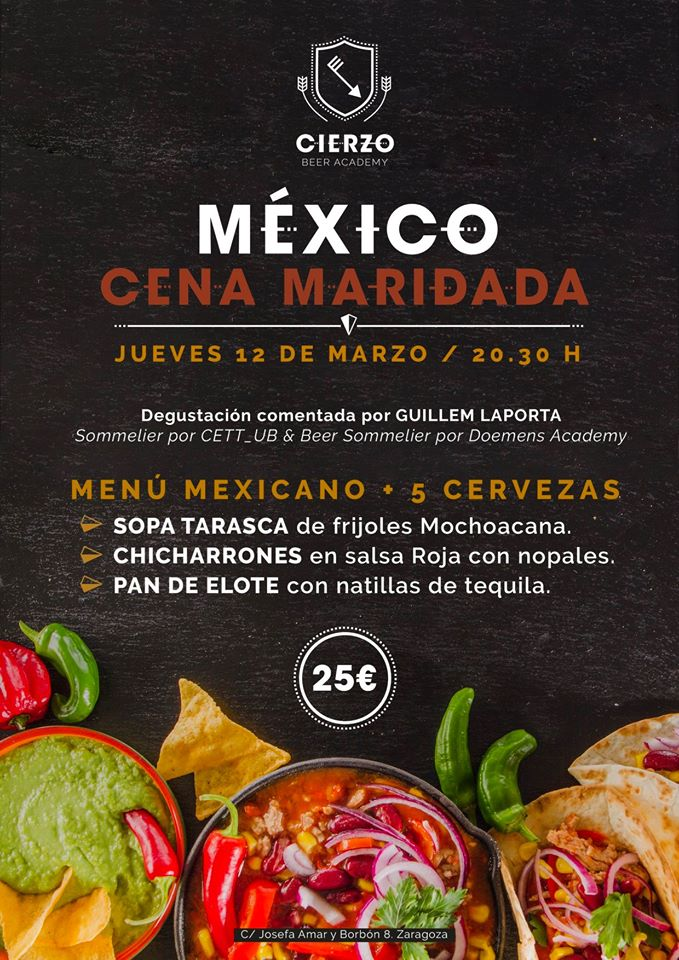 Cena México Cierzo