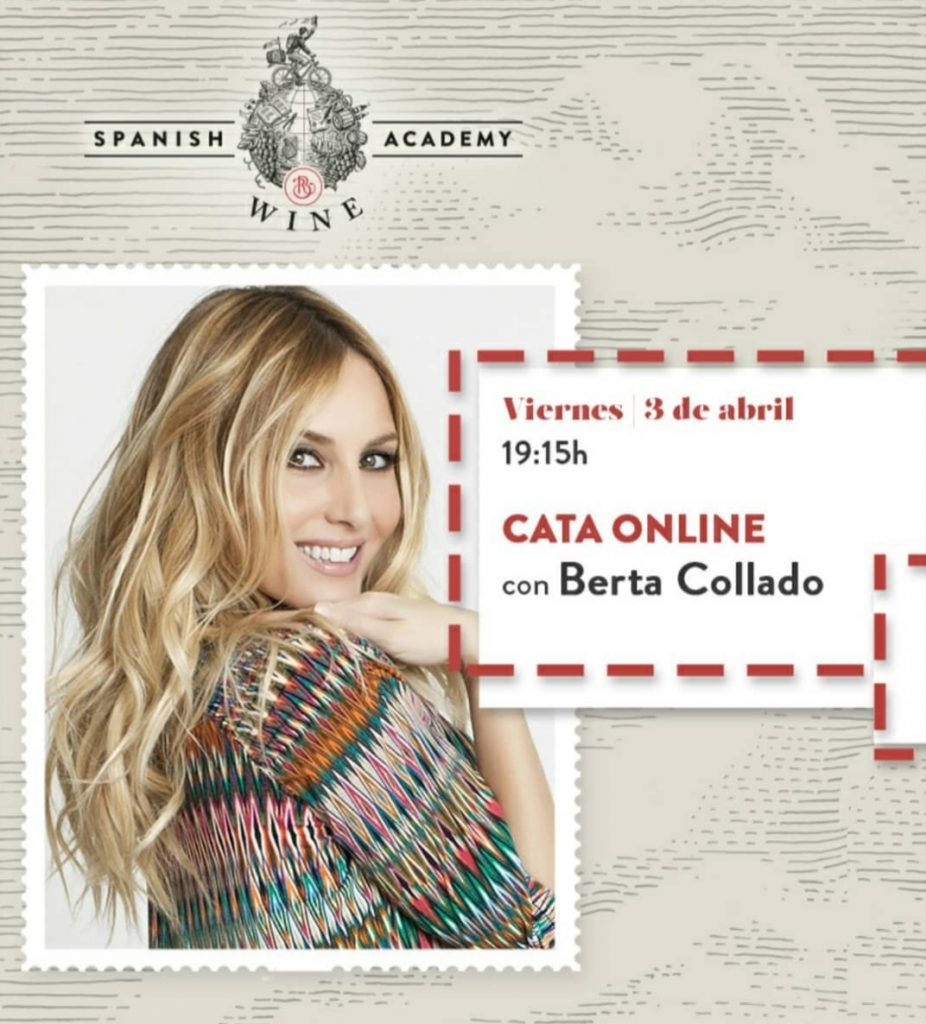Cata online con Berta Collado