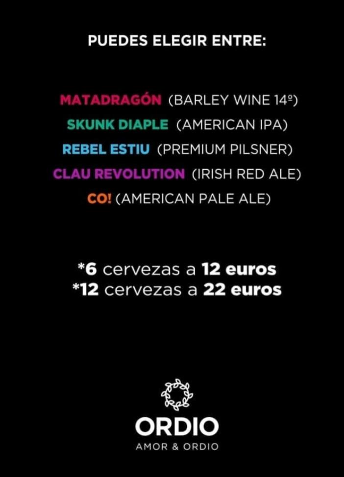 Cervezas Ordio