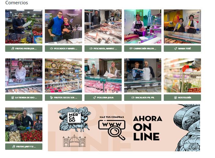 Mercado Central on line